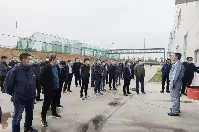 万华节能科技集团生产基地参观工业园区与自动化生产线